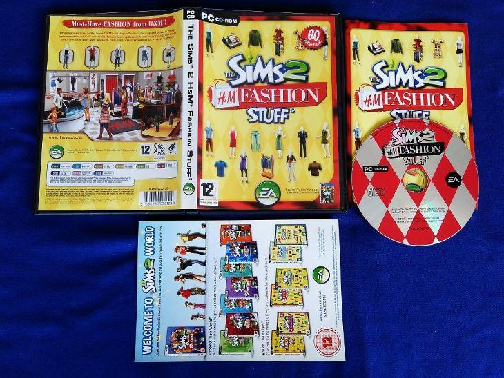 PC - THE SIMS 2 HaM FASHION STUFF (retro 2007) Top - Hry