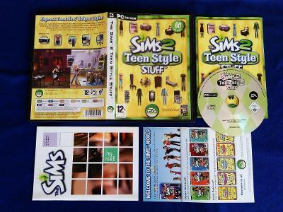 PC - THE SIMS 2 TEEN STYLE STUFF (retro 2007) Top