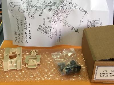 Resinová stavebnice Shadow Mk II - ESDO MODELE 1/43 (H12-12)