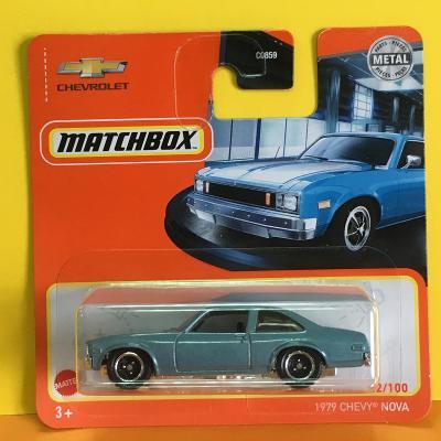 1979 Chevy Nova - Matchbox 2021 22/100 (H10-9)