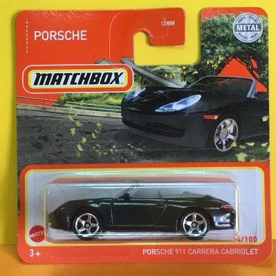Porsche 911 Carrera Cabriolet - Matchbox 2021 54/100 (H10-15)