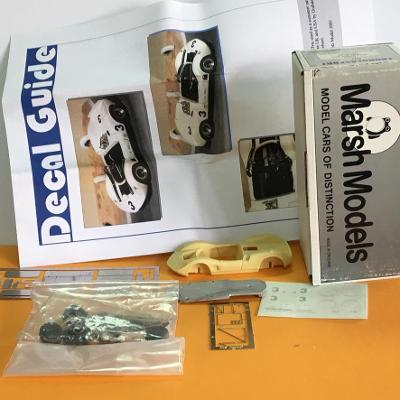 Resin stavebnice McLaren M1A (1965) - Marsh Models 1/43 (H12-19)