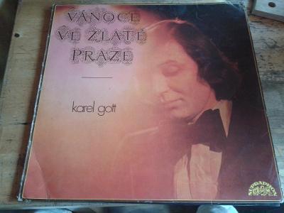 Karel Gott - VÁNOCE V ZLATÉ PRAZE STAV EX/VG