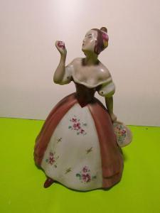 Porcelánová panenka Czechoslovakia značená Royal Dux