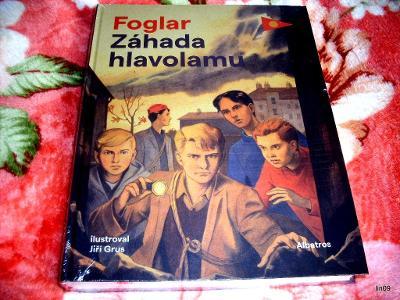 JAROSLAV FOGLAR--ZÁHADA HLAVOLAMU--NOVÉ--NEROZBALENO.