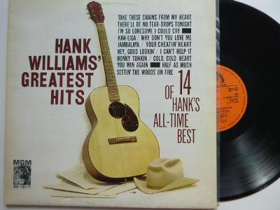 HANK WILLIAM´S GREATEST HITS - 14 OF HANK´S ALL-TIME BEST Jambalaya Co