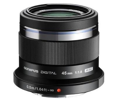 Objektiv Olympus 45MM 1.8, black