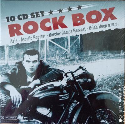 Rock Box  10 CD BOX WALLET
