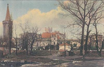 Pěčín Trhové Sviny České Budějovice zámek Löwensteinů 1913