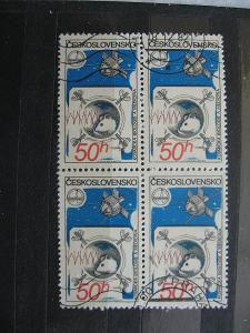 čtyřblok 2429 - INTERKOSMOS 1980 - popis - H-3