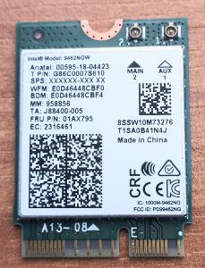 WI-fi karta 802.11ac  s bluetooth 5.1 vhodná pro NTB