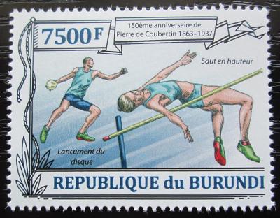 Burundi 2013 Atletika, Olympijské hry Mi# 3192 2161