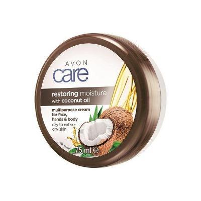Regenerační hydratační krém na obličej, ruce a tělo s kokosovým olejem