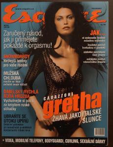 Časopis - Esquire číslo 12 rok 1999  - Top stav