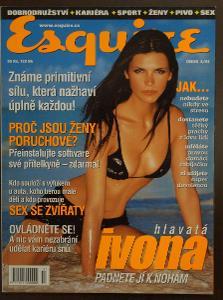Časopis - Esquire číslo 2 rok 2001  - Top stav