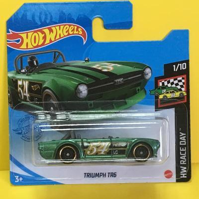 Triumph TR6 - Hot Wheels 2021 9/250 (L9-b6)