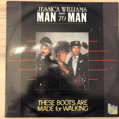 LP Jessica Williams Meets Man 2 Man – These Boots Are Made For Walking