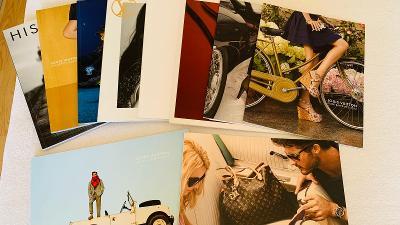 Louis Vuitton 10x luxusní katalog