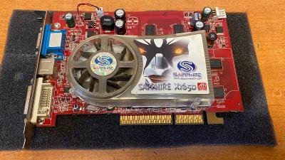 Grafická karta Ati radeon X1650 256MB pro sběratele grafických karet