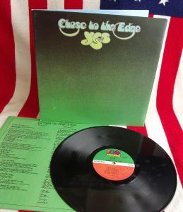 💎 LP: YES - CLOSE TO THE EDGE, 1st press USA 1972, textured MINT!!!