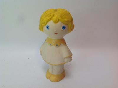 Pískací gumová hračka