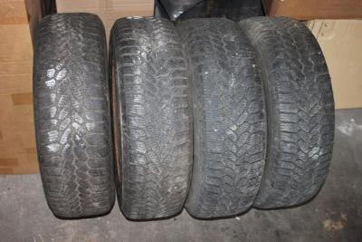 kompletní 4 kola se zimníma pneumatikama na Seat Alhambru