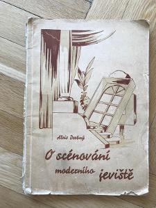 O scénování moderního jeviště – Alois Drobný (1948) – katalog kulis
