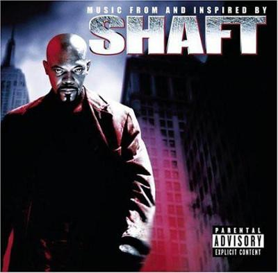 SHAFT MUSIC FROM AND INSPIRED CD ALBUM 2000.
