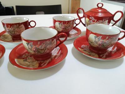 Čínský porcelán - servis