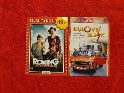 NOVÉ - DVD - Krásné 2 české filmy - Od 1 Koruny