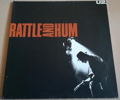 2LP U2-RATTLE AND HUM /EX++, TOP STAV, 1988