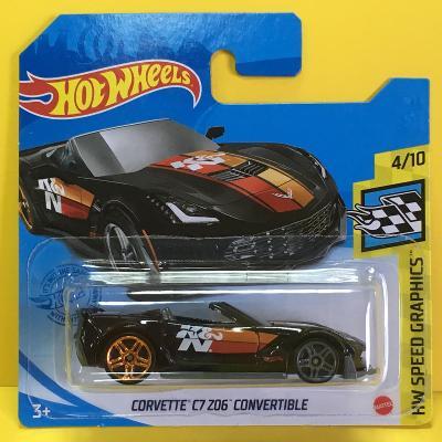 Corvette C7 Z06 Convertible K&N - Hot Wheels 2021 114/250 (E13-51)