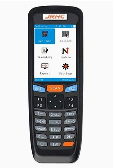 Bezdrátový skener čárových kódů JRHC - Vybavení obchodu