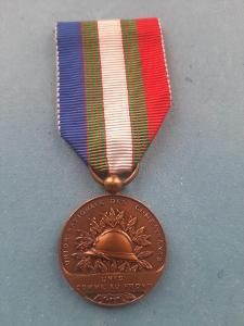 Medaile veteránů 1. sv. války 1914-1918, Francie, legie, bronz II