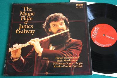 JAMES GALWAY (irský mistr) - Flétna - top st. - UK´76 - i Ant.DVOŘÁK!!