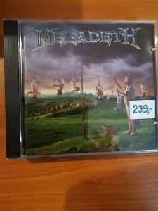 Prodám CD Megadeth - Youthanasia