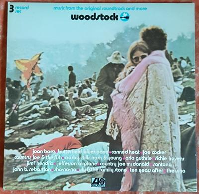 3LP Various – Woodstock - Music From The Original Soundtrack And More