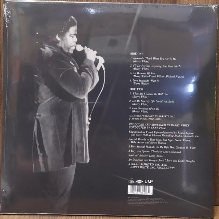 LP vinyl Barry White Just Another Way to Say I Love You - Hudba