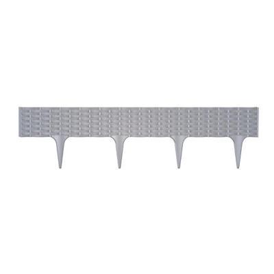 Zahradní obrubník Prosperplast IBRA-405U 3,9 m - šedý
