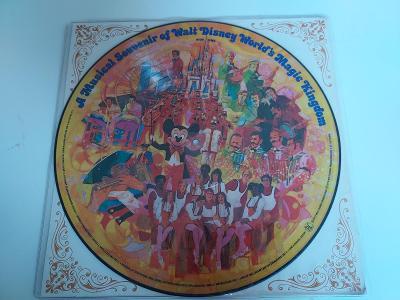 Walt Disney - Disneyland souvenir - OBRAZOVÝ VINYL -USA 1973- LP