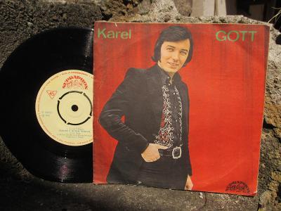 SP DESKA - KAREL GOTT - KÁVU SI OSLADÍM / SLUNCE K HORÁM - 1972