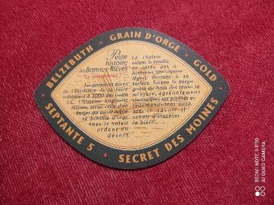 Grain D'orge pivní tácek