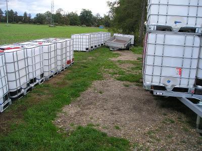 IBC kontejner,nádrž na vodu na 1000 litrů,naftu,žumpu