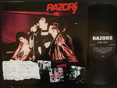 RAZORS-Rare & live-LP LOMBARDY REC