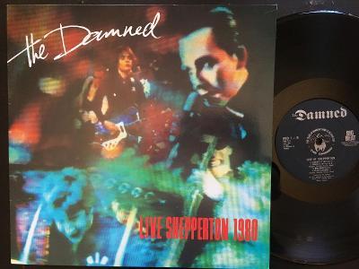 THE DAMNED-Live shepperton 1980-LP 1980 BIG BEAT VG+