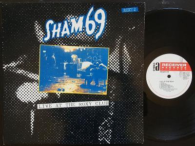 SHAM 69-Live at the roxy-LP 1990 RECEIVER REC EX