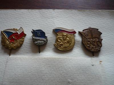 Odznaky-4.ks. - 200.-