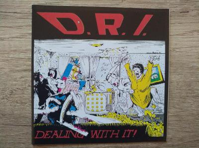 CD-D.R.I.-Dealing With It/leg.thrash,hc,punk,U.S.,rare,1pres 1991