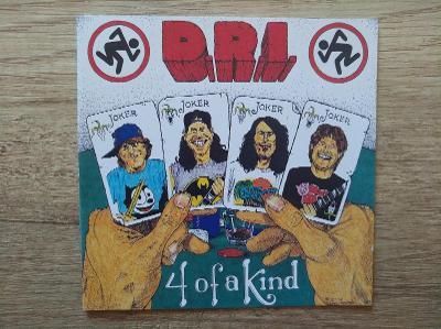 CD-D.R.I.-Four Of A Kind/leg.thrash,hc,punk,U.S.,rare,1pres 1996
