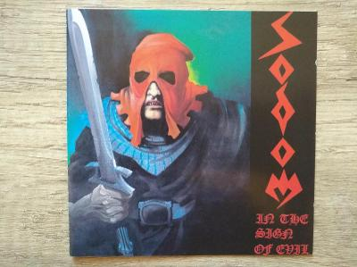 CD-SODOM-In The Sign Of Evil/Obsessed By Cruelty/leg.thrash,De,rare